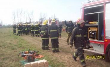 BOMBEROS VOLINTARIOS DE GRAL VIAMONTE: Jornada de rescate vehicular