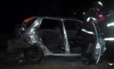 Un Toldense  sufre un accidente en Chacabuco