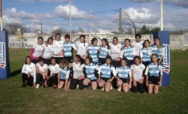 La actividad del rugby femenino Los Toldos